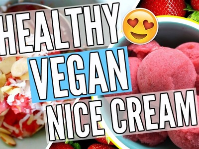 2 DIY Healthy Vegan Nice-Cream Recipes. Pinterest Inspired! | Cicily Boone