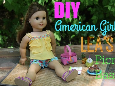 DIY American Girl Lea Clark's Beach Picnic Set!