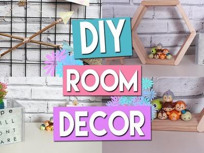 DIY BUDGET ROOM DECOR l £1.Dollar Store!