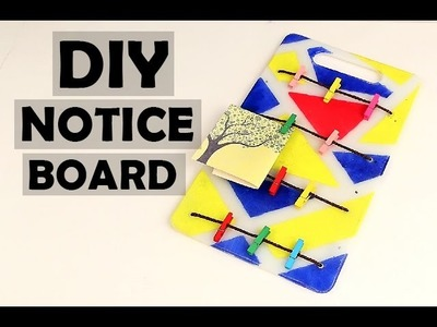 DIY Bulletin Board | DIY Notice Board | Easy Step By Step