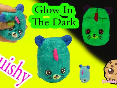 DIY Glow In The Dark Squishy Shopkins Season 5 Petkins Inspired Craft Do It Yourself by Cookieswirlc