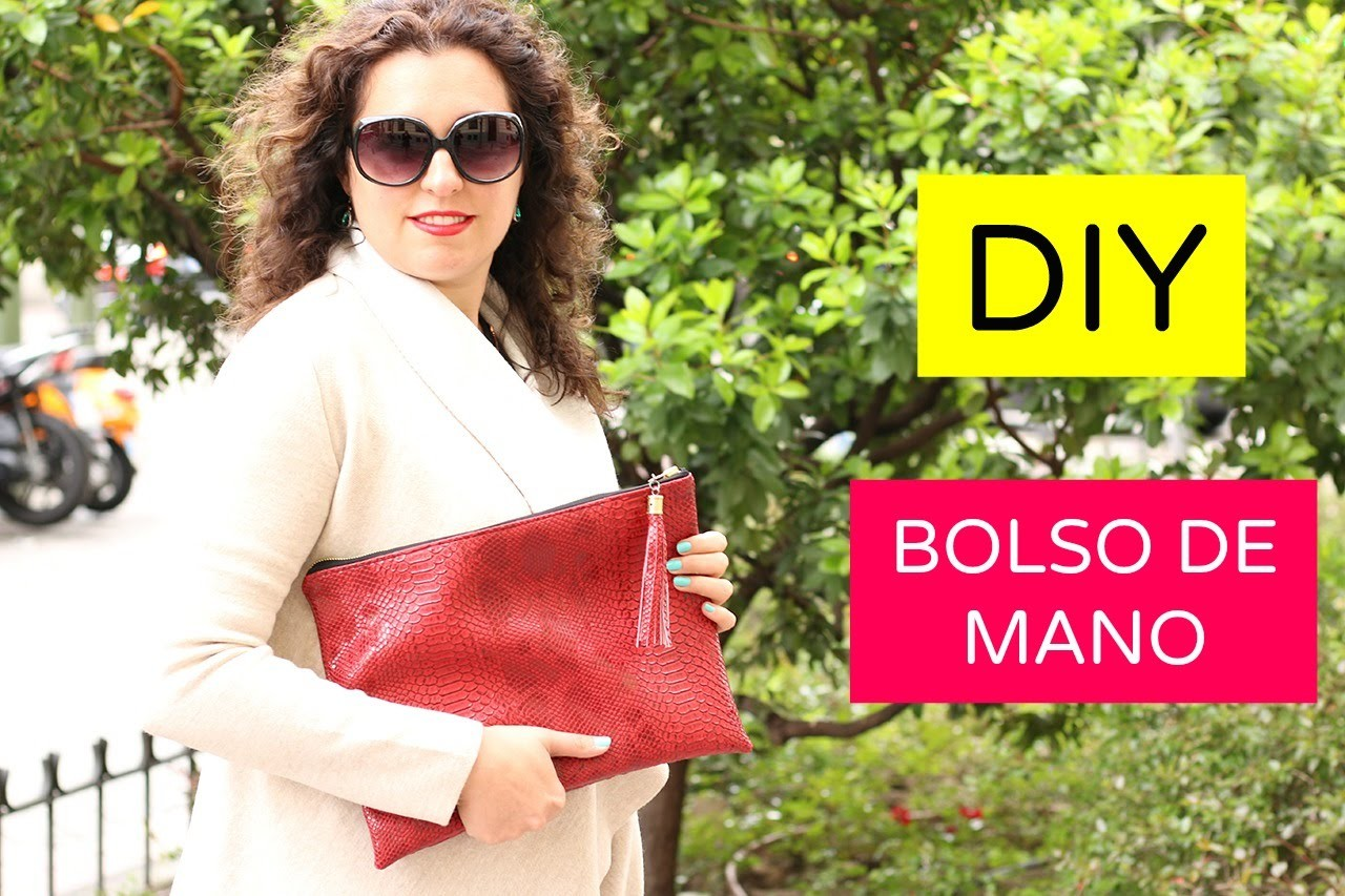 DIY HANDBAG WITH TASSEL | DIY BOLSO DE MANO con borla