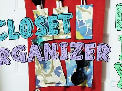 DIY Hanging Closet Organizer | Basic Girls Guide