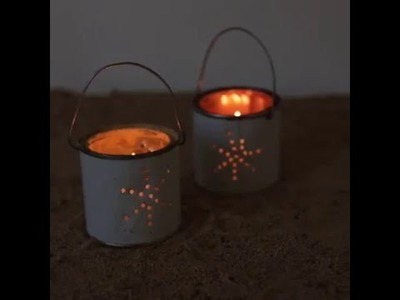 DIY how to make a beautifull candle