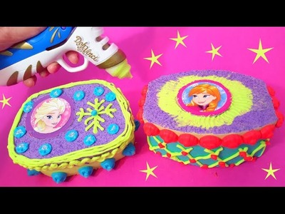 DIY Play Doh Vinci Disney Frozen decorative boxes