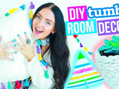 DIY ROOM DECOR! Tumblr and Pinterest Inspired! (Easy and Affordable) 2016!