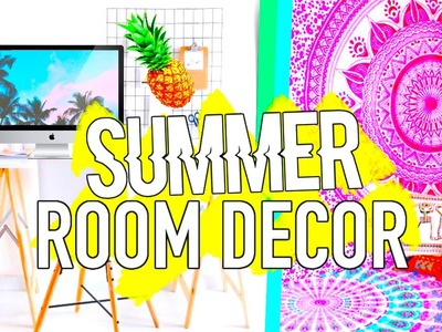 DIY Summer Room Decor Tumblr Inspired! Easy & Affordable!