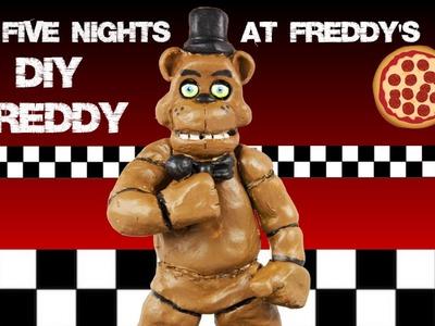 Five Nights at Freddy's DIY Freddy Fazbear Clay Sculpture