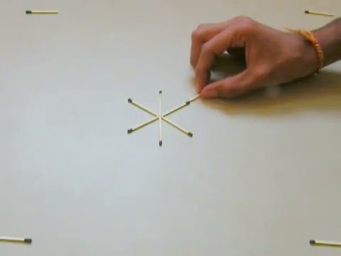 Matchstick Snow Flake - Decorate Your Home (DIY)