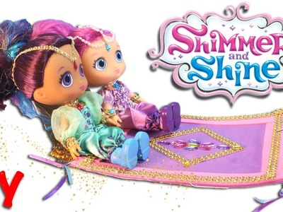 SHIMMER AND SHINE Toys Magic Flying Carpet DIY - Make Your Own Magic Carpet Toy Nickelodeon