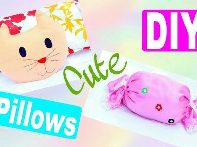2 Kawaii decorative throw pillows | Cute DIY Room Decor | Style Small World