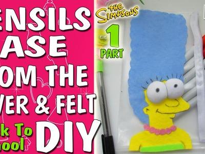 Back to school DIY: Pensils CASE [Marge] #1