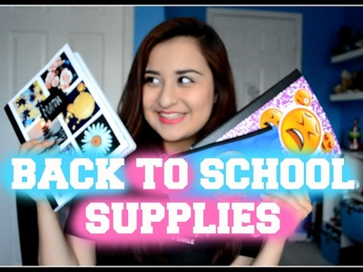 Back to School: DIY SCHOOL SUPPLIES