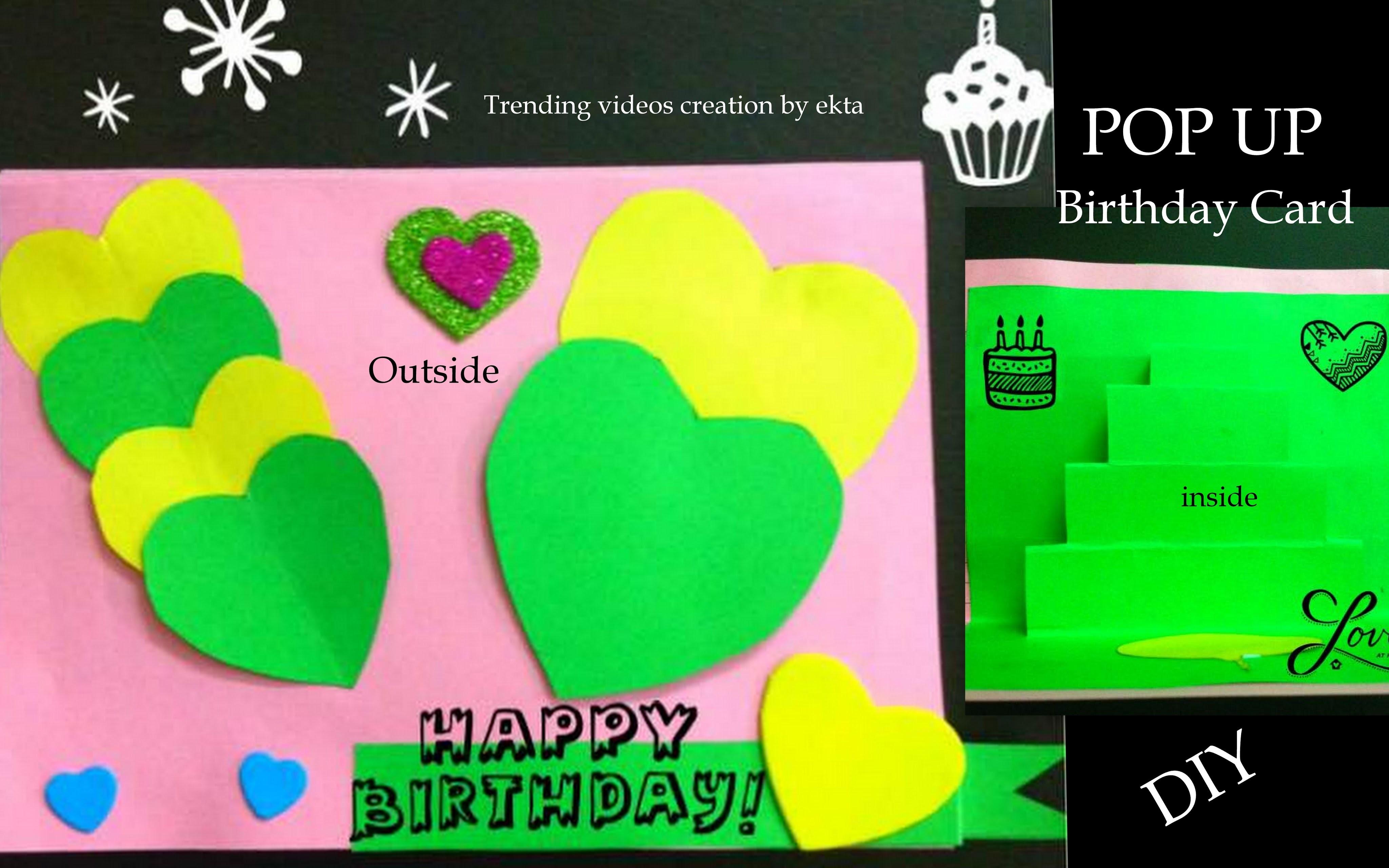 how to make handmade pop up cards