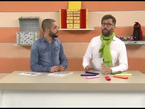 Dicas de Cores com Luiz Masse  - Vitrine do Artesanato na TV