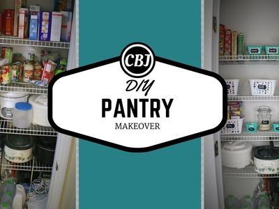 DIY #10- PANTRY MAKEOVER & ORGANIZATION