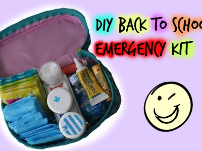DIY back to school emergency kit!