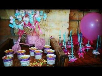 DIY BIRTHDAY PARTY (DEKORACIJA RODJENDANA) 1's PART (PRVI DEO)