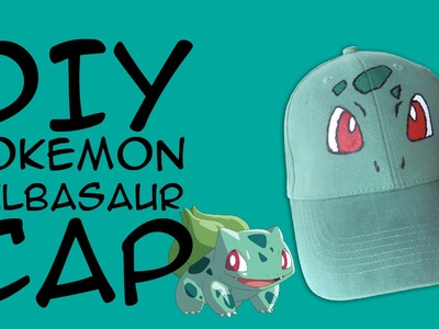 DIY Bulbasaur Cap: Crafty McFangirl Tutorial