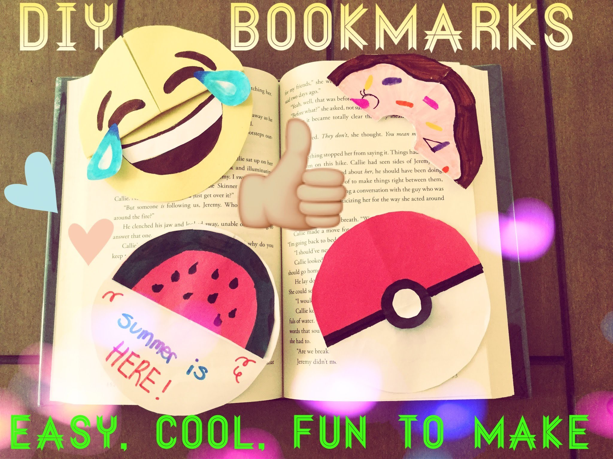 DIY circle bookmarks for kids super easy [tutorial]
