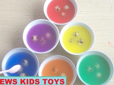 DIY Colored Easter Eggs - quail eggs - Coloring Games quail eggs