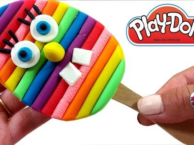 DIY Creative For Kids  How To Make Rainbow SpongeBob Ice Cream