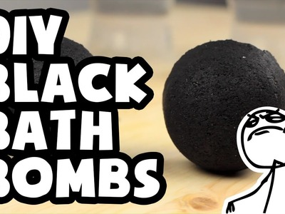 DIY Darkest Black Bath Bombs Ever - Do It Like a Boss