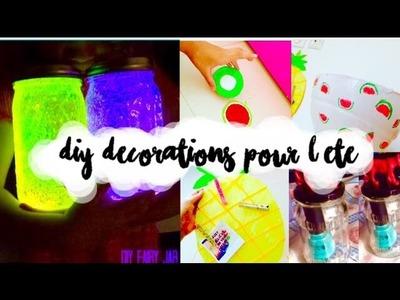 DIY DECORATIONS DE CHAMBRE POUR L'ETE |TUMBLR & PINTEREST inspired | ft the world of Heloise