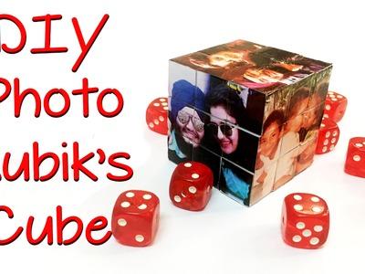 DIY Gifts- Photo Rubik's Cube