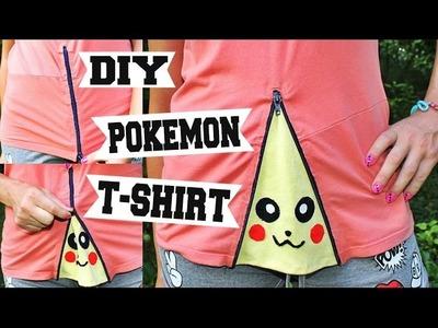 DIY - GO POKEMON T-SHIRT. Kako napraviti pronadji pokemona majicu