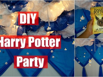 DIY Harry Potter Party! Easy & Cheap!