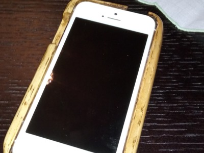 DIY iphone 5 wooden case how to Simply Make it