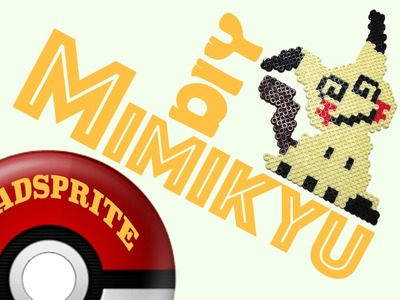 DIY: Mimikyu from Pokemon | Bead Sprites (Perler.Hama.Arktal Beads)