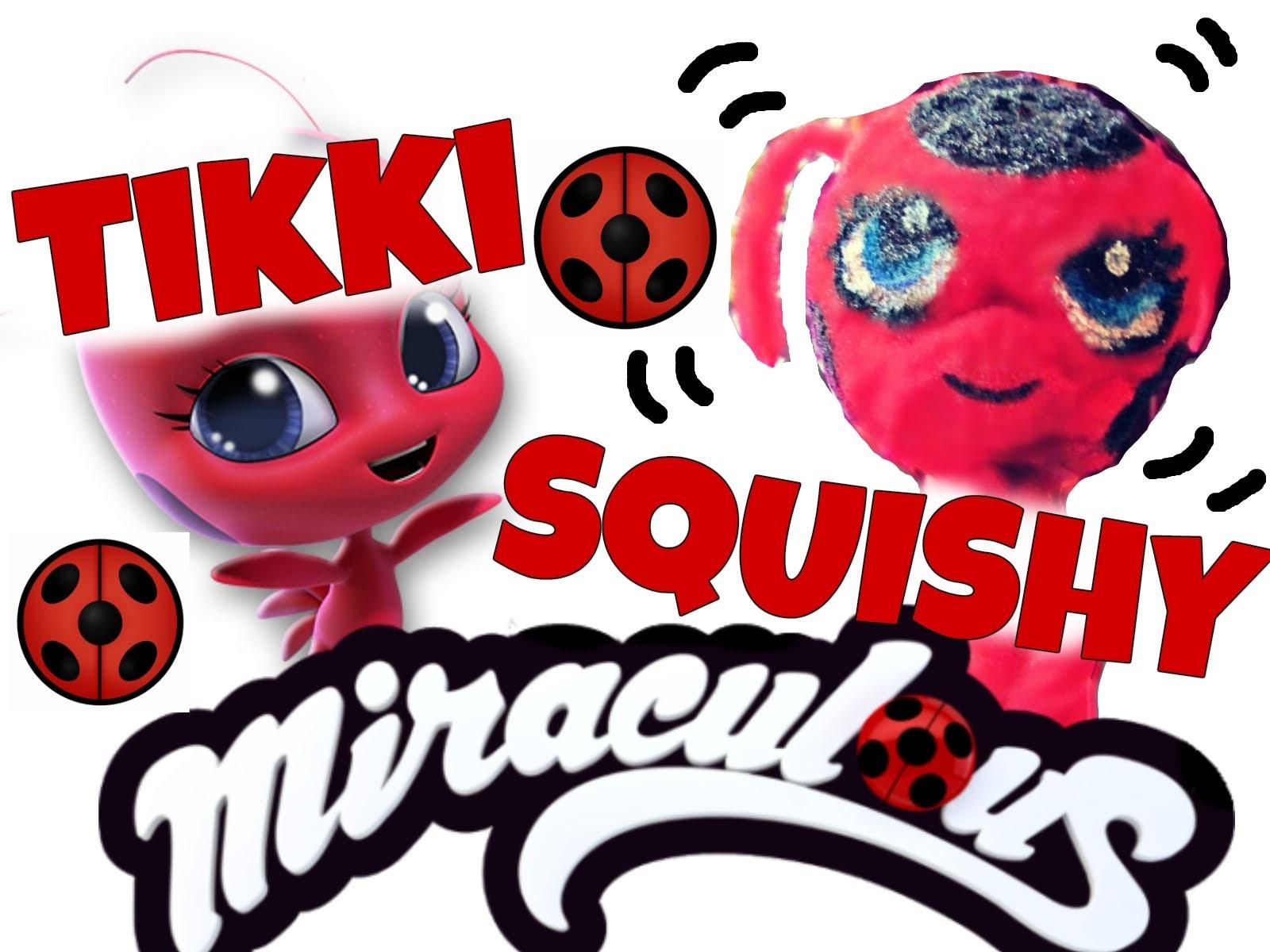 Diy Miraculous Ladybug Tikki Squishy