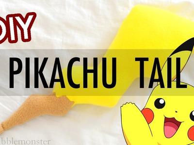 【DIY】 『Pikachu Tail』 Cosplay Fashion Accessory 【POKÉMON】 | snowbubblemonster