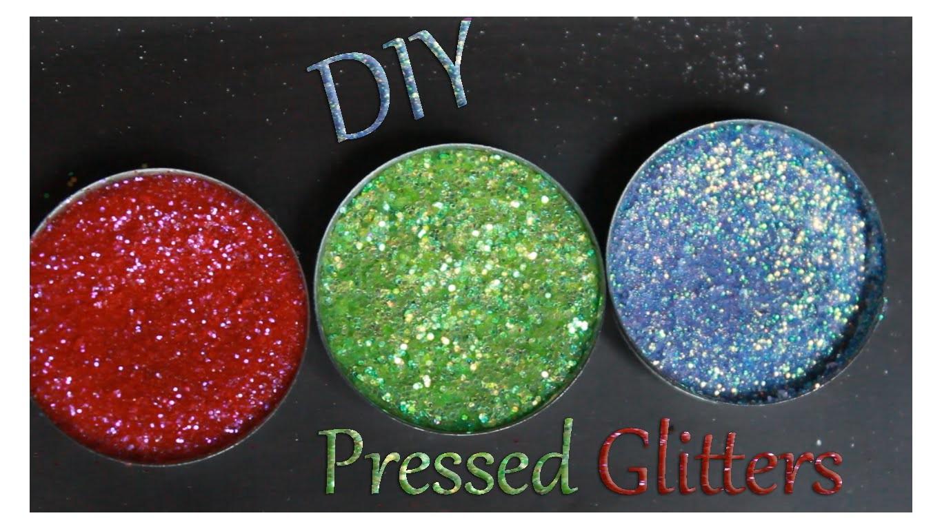 DIY Pressed Glitters Super Easy