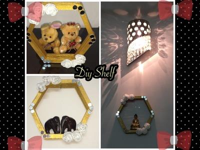 DIY Shelf | Using Ice Cream Sticks | Home Decor Idea | DIY Video