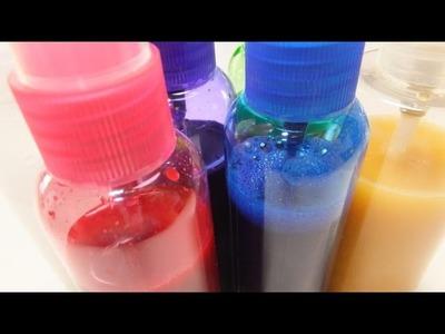 DIY Shimmer and Ink Spray Craft Hack