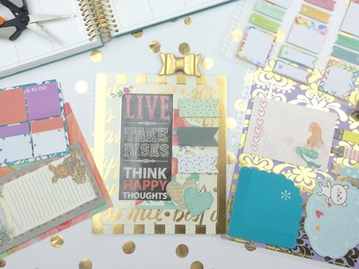 DIY Snap-In Sticky Notes for the Erin Condren LifePlanner!