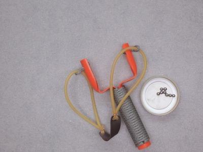 Easy DIY Slingshot You Can Make At Home