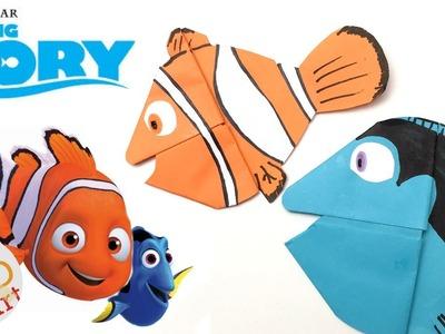 Finding Dory - Nemo Bookmark - Easy Origami