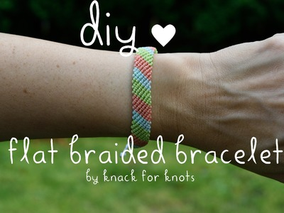 Flat Braid Wax String Friendship Bracelets | Tutorial Inspired by Pura Vida Bracelets!
