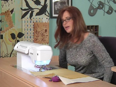 Heather Valentine Creates a Sewing Caddy on It's Sew Easy (1103-2)