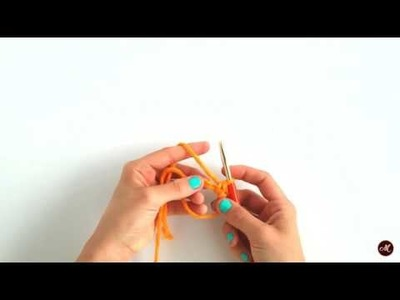 How to crochet: Magic Ring [Day 7 of 12]