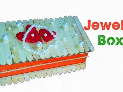 How to make a Jewelry Box using Cardboard : DIY Jewelry Box