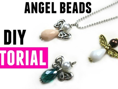 How To Make An Angel With Beads - DIY Jewelry Making