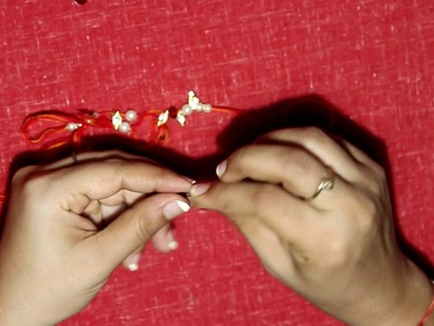 How To Make beautiful Rakhi at Home (DIY) Rakshabandhan Special.
