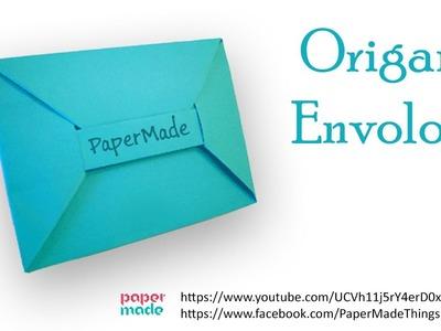 How to make Beautifull Paper Envelope Origami   DIY   PaperMade