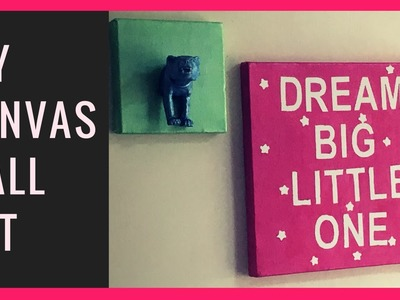 How to make DIY Canvas Wall Art