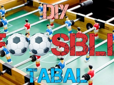How to make DIY Foosball Table